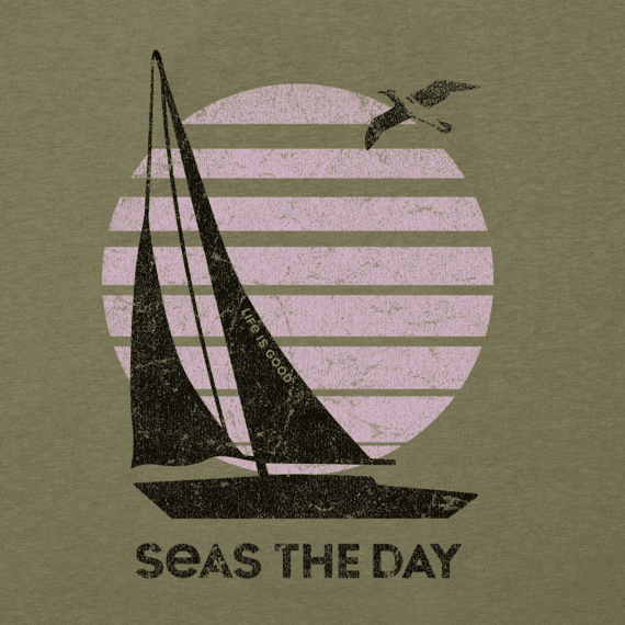 Women's Seas The Day Sailboat Cool Vee