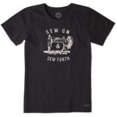 Women's Sew On And Sew Forth Crusher Tee