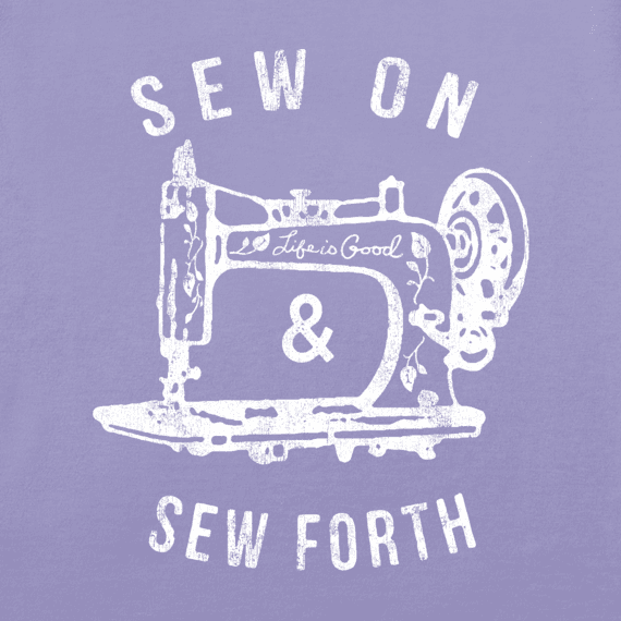 Women's Sew On and Sew Forth Crusher Vee