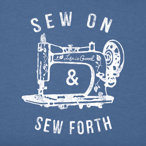 Women's Sew On and Sew Forth Long Sleeve Crusher Tee