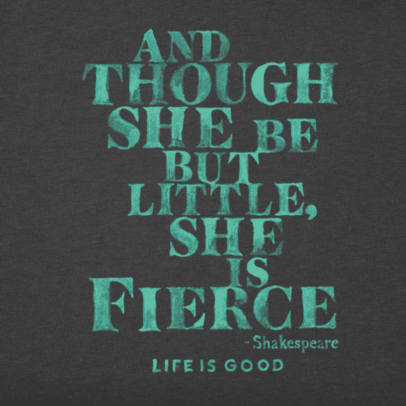 Women's She Is Fierce Crusher Tee