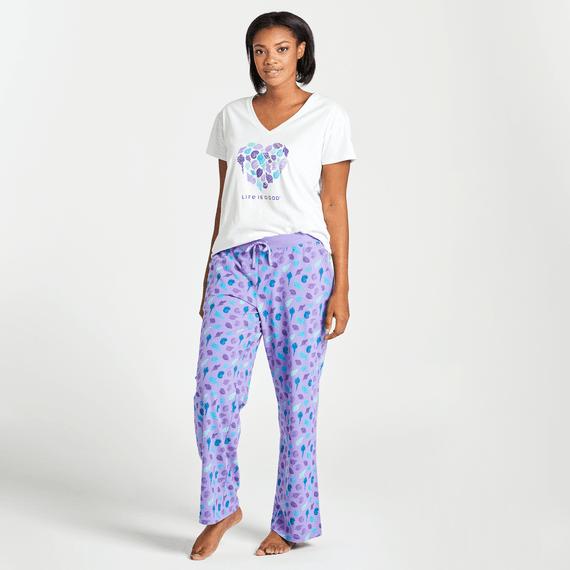 Women's Shell Print Snuggle Up Sleep Pant