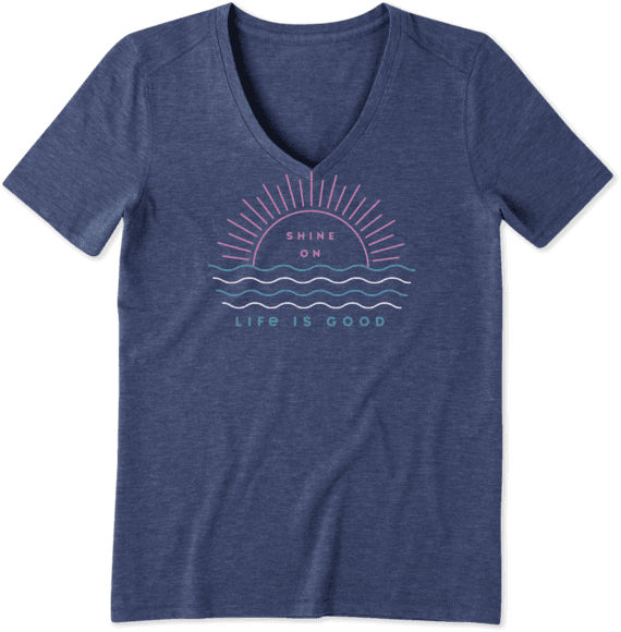 Women's Shine On Cool Vee