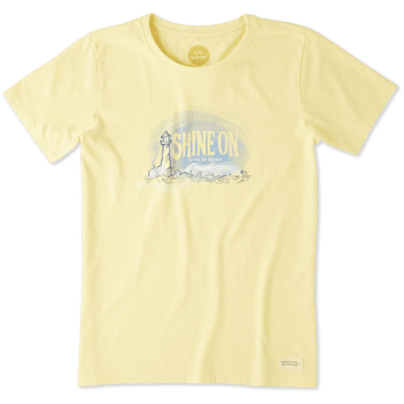 Women's Shine On Light House Crusher Tee