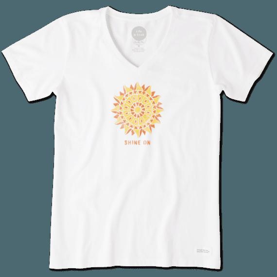 Women's Shine On Sun Crusher Vee