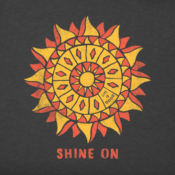 Women's Shine On Sun Long Sleeve Crusher Vee