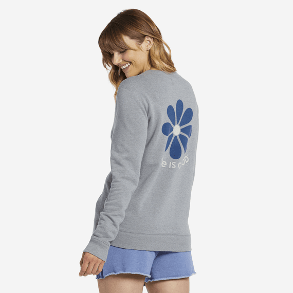 Women's Simple Daisy Simply True Crew