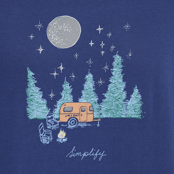 Women's Simplify Camping Long Sleeve Breezy Tee