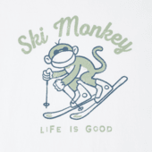 Women's Ski Monkey Long Sleeve Crusher Tee