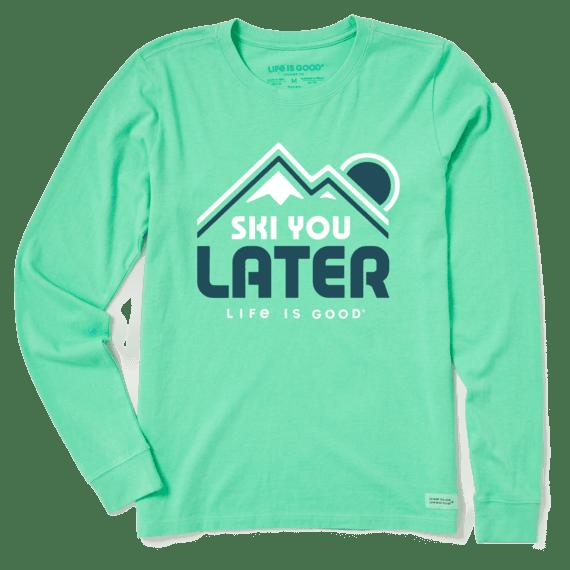 Women's Ski You Later Long Sleeve Crusher Tee