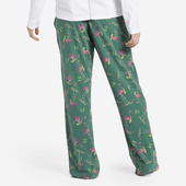 Women's Skiing Flamingo Toss Snuggle Up Sleep Pant