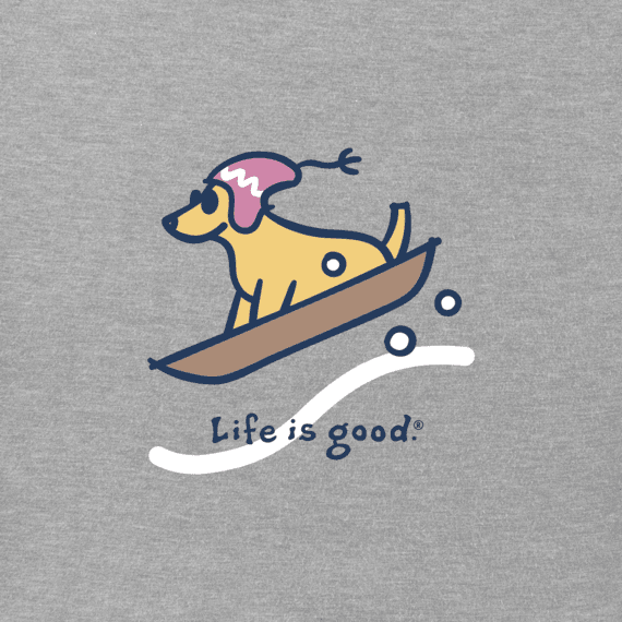 Life is Good Womens Vintage Crusher Longsleeve Shirt