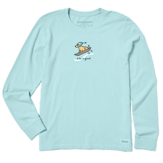 Women's Sled Dog Long Sleeve Vintage Crusher Tee
