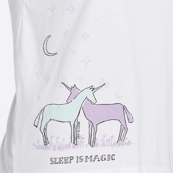 Women's Sleep Is Magic Snuggle Up Relaxed Sleep Tee