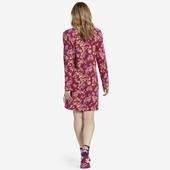 Women's Sleepy Flower Toss Snuggle Up Long Sleeve Sleep Dress