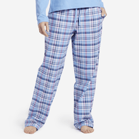 Women's Sleepy Powder Plaid Classic Sleep Pant