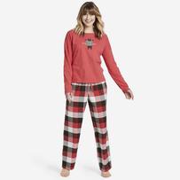 Women's Sleepy Red Plaid Classic Sleep Pant