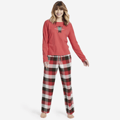 Women's Sleepy Red Plaid Classic Sleep Pant