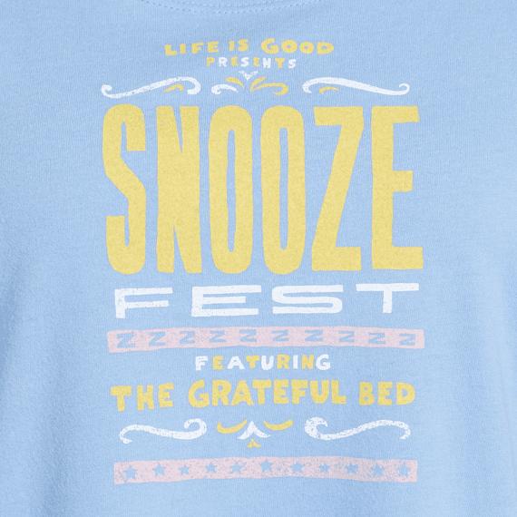 Women's Sleepy Snooze Fest Sleep Tee Dress