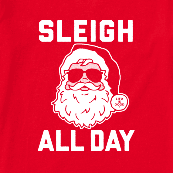 Women's Sleigh All Day Long Sleeve Crusher Tee