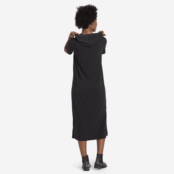 Women's Slub Supreme Hoodie Dress