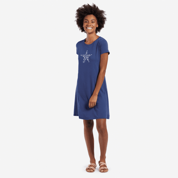 Women's Smaller Stars Dress