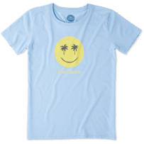 Women's Smiley Palms Cool Tee