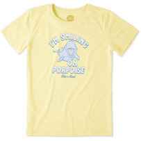Women's Smiling On Porpoise Cool Tee