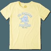 Women's Smiling On Porpoise Cool Tee