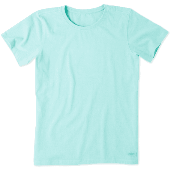 Women's Solid Crusher Tee
