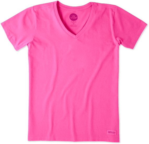 Women's Solid Crusher Vee