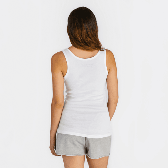 Women's Solid Soft & Simple Fitted Tank