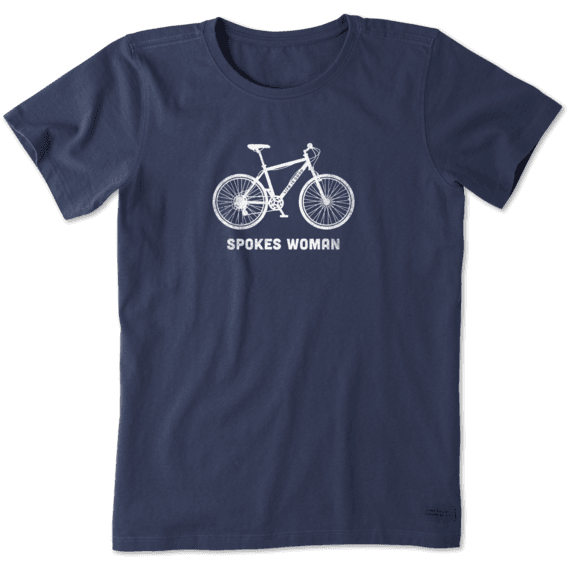 Women's Spokes Woman Crusher Tee