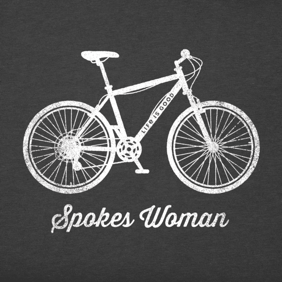 Women's Spokes Woman Crusher Tee