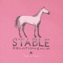 Women's Stable Relationship Long Sleeve Crusher Tee