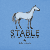 Women's Stable Relationship Long Sleeve Crusher Vee