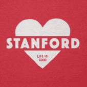 Women's Stanford Heart Knockout Cool Vee