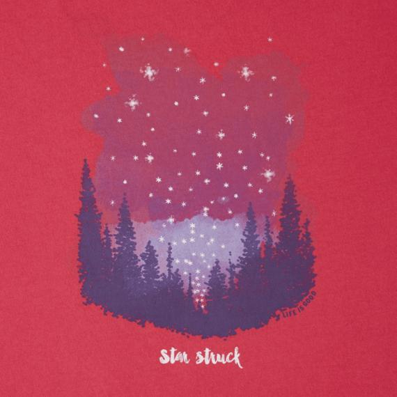 Women's Star Struck Meadow Long Sleeve Breezy Tee
