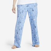 Women's Starry Moon Sky Snuggle Up Sleep Pant