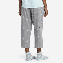 Women's Starry Moons Cropped Sleep Pants