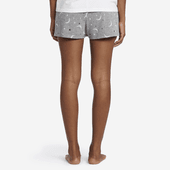 Women's Starry Moons Knit Sleep Shorts