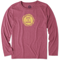 Women's Starry Sun Long Sleeve Cool Tee