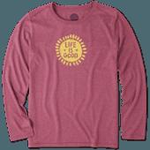 Women's Starry Sun Long Sleeve Cool Tee