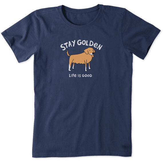 Women's Stay Golden Crusher Tee