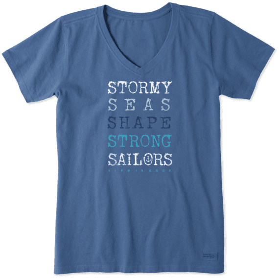Women's Strong Sailors Crusher Vee