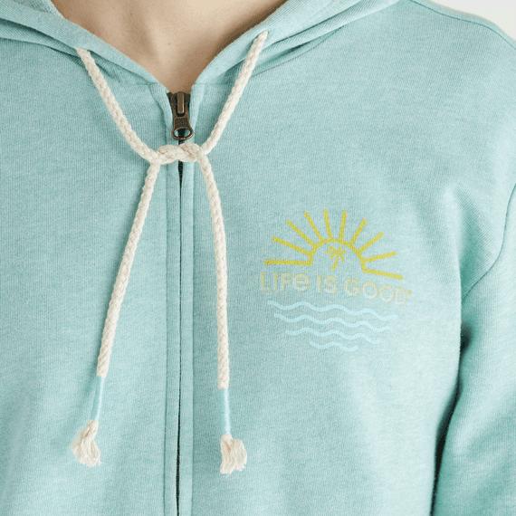 Women's Sun & Waves Simply True Zip Hoodie