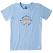 Women's Sun Compass Crusher Tee