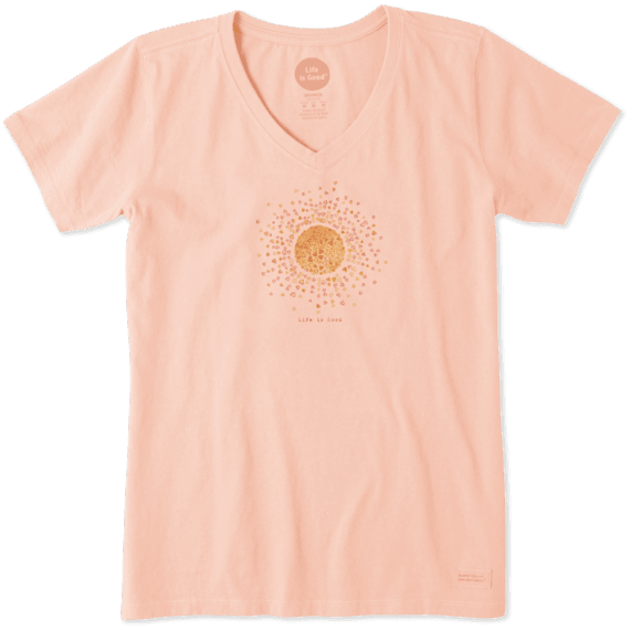 Women's Sun Hearts Crusher Vee