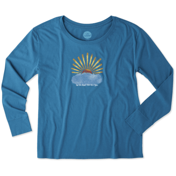 Women's Sun Star Long Sleeve Breezy Tee