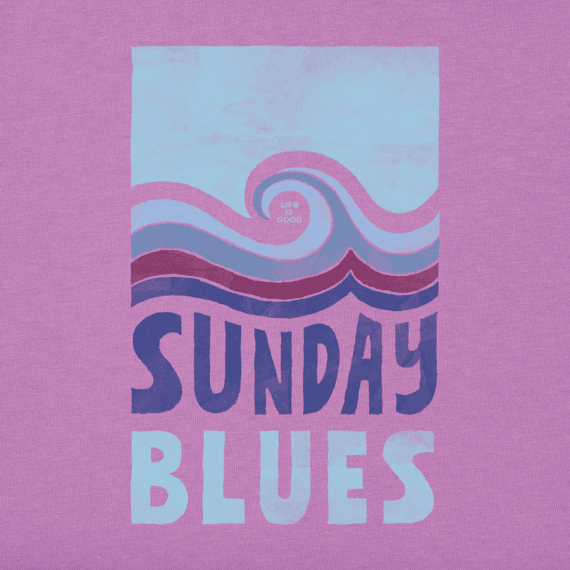 Women's Sunday Blues Crusher Tee
